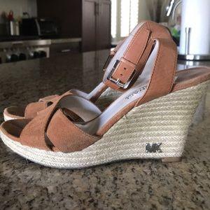 Michael Kors wedge sandals! 👡